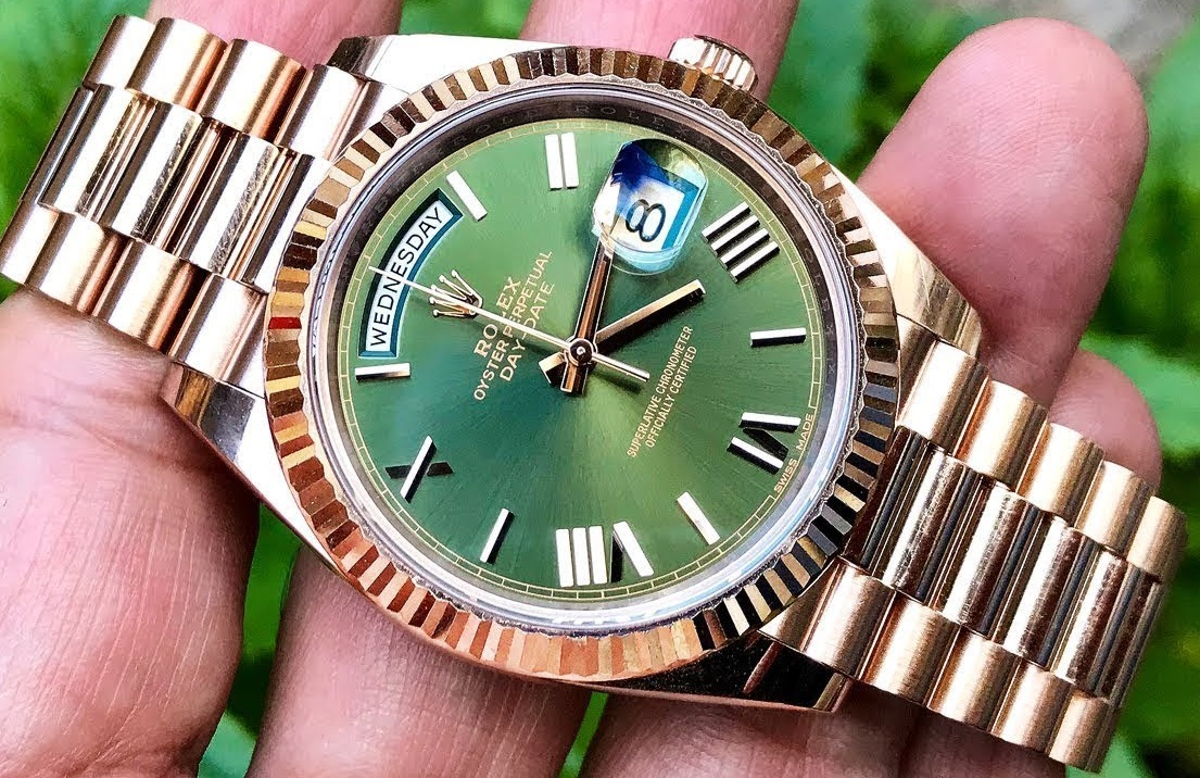 Fake Rolex Day-Date VS Fake Rolex Sky-Dweller(part2)