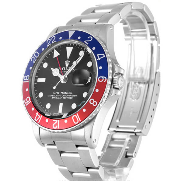 Rolex Replica GMT Master in Red and Blue